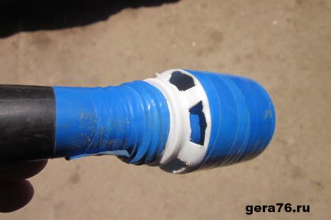 Трубка для подводной своими руками 950